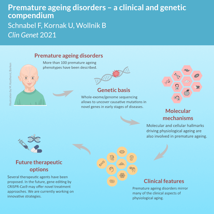 Our review article on premature ageing disorders